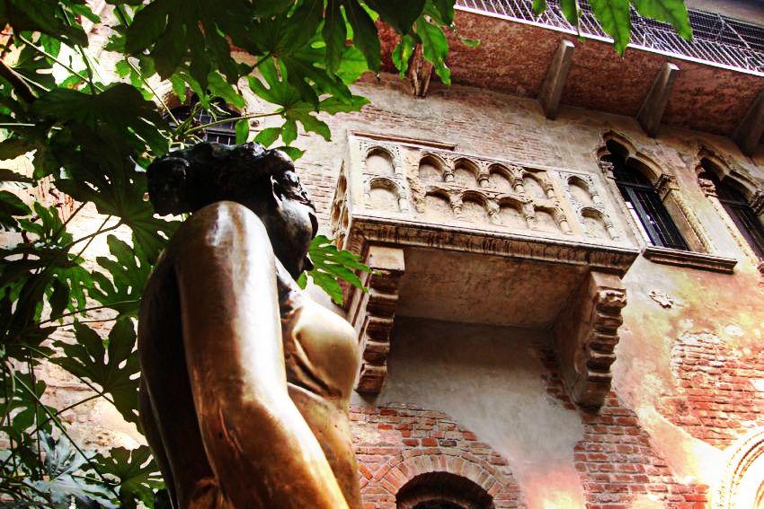 Обитель романтики — Дом Джульетты